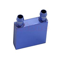 water cooling blocks 2019 - Wholesale- Aluminium Waterblock Water Cooling Heatsink Block Liquid Cooler For CPU GPU SR cheap water cooling blocks