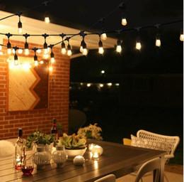 $enCountryForm.capitalKeyWord NZ - 10M 12pc LED bulb Waterproof IP65 String Lights Indoor Outdoor Commercial Grade E26 E27 Street Garden Patio Backyard Holiday String Lighting