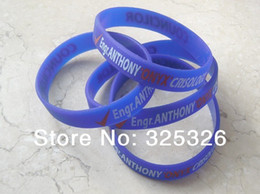 $enCountryForm.capitalKeyWord Canada - 202MM length blue Band, Name phrase ID business logo accept print Silicon Bracelet, Printed Bracelet, 50pcs lot, Free Shipping