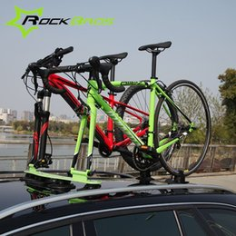 Luggage Racks Canada - ROCKBROS Treefrog Sustion Cup Roof Rack For Two Bike Jeep&SUV Sucker Talon Bike Rack Maximum Load 30KG Luggage Carrier,9 Colors