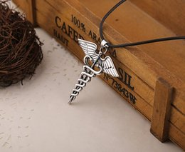 percy jackson necklace 2019 - free shipping european and american fashion classic movie percy jackson necklace necklace europe and america #3225