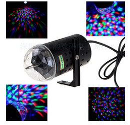 $enCountryForm.capitalKeyWord NZ - 3W RGB Full Color Auto Rotating Lamp Voice-activated Crystal Magic Ball Laser Stage Light for Party Disco DJ Bar Bulb KTV Lighting Show