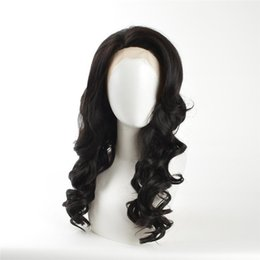 Long hair big curLs online shopping - kabell African American fashion Fashion wigs lace front wigs Black curls hair long inch lace front wigs White women Big wave hairstyle