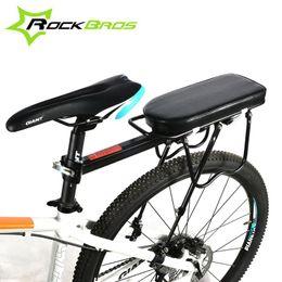 Carrying Bike Canada - RockBros Disc Brake V Brake Aluminum Rack Bike Bicycle Rear Rack Carry Carrier Cycling Seatpost Mount & Rear Rack Seat