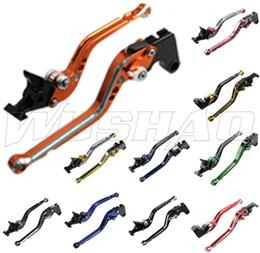 $enCountryForm.capitalKeyWord NZ - Mixed-color Motorcycle Adjustable Long Brake Clutch Levers For Honda CBR1100XX CBR 1100XX VFR800 VFR 800 ST1300 ST1300A ST 1300