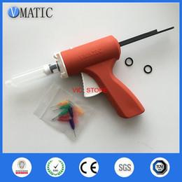 $enCountryForm.capitalKeyWord Canada - quality 10ML manual syringe gun  Epoxy Caulking Adhesive Gun single liquid glue gun dispenser gun