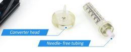 Agujas para la máquina de mesoterapia con sistema de inyección sin aguja para el rejuvenecimiento de la piel por absorción de nutrición