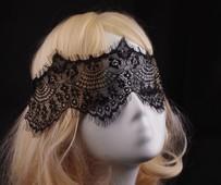 Women Face Mask Sex Australia - Wholesale-2015 New Fashion and Beautiful Women Loves Half Face Black Sex Lace Mask Party Halloween Mardi Gras Masquerade Mask