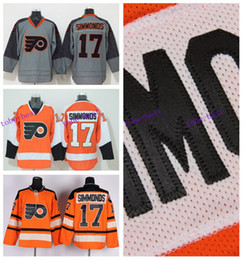 fb133178 ... Cheap Philadelphia Flyers Hockey Jerseys 17 Wayne Simmonds Jersey Orange  Authentic Stitched Jersey 2012 Winter Classic ...