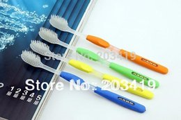 $enCountryForm.capitalKeyWord NZ - 1PC nano health dual adult white toothbrush (4pcs packed in a blister card) wholesale