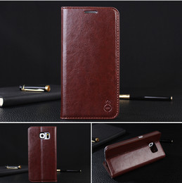 $enCountryForm.capitalKeyWord Canada - For Samsung Galaxy S6 EDGE Plus S5 NOTE3 NOTE5 Leather Case Wallet Case Cover Pouch with Card Slot