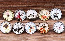$enCountryForm.capitalKeyWord Canada - JACK88 DIY Mix Styles Snaps 30 pcs lot The Clock 18mm Snap Button Fit Ginger Snap Charm Bracelet Jewelry N033