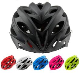 Black Orange Road Bicycle NZ - Bicycle Helmets Matte Black Men Women Bike Helmet Back Light Mountain Road Bike Integrally Molded Cycling Helmets