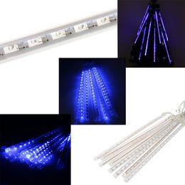 $enCountryForm.capitalKeyWord NZ - LED Christmas Lights Meteor Shower Rain Tubes LED Light For Party Wedding Decoration 50cm 110-220V White Blue EU US Plug