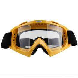Chinese  Wholesale-1pc Feminino & Masculino Couples Snowboard Snow Ski Goggles Yellow Frame Clear Lens Eyeware Outdoor Sports Gafas Glasses manufacturers