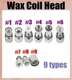 $enCountryForm.capitalKeyWord Canada - 9 types dual ceramic rebuildable atomizer coils head ceramic rod coil for wax vaporizer pen for glass tank clearomizer dhl free FJ027
