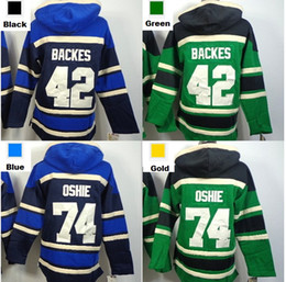 $enCountryForm.capitalKeyWord NZ - Factory Outlet, St. Louis hoody 42 David Backes 74 T.J. Oshie Old Time Hockey Jersey Ice Hockey hoodies   hockey sweatshirt