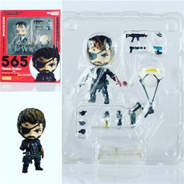 Discount metal gear solid toys Demishop Nendoroid Metal Gear Solid 3 VENOM Snake #565 Sneaking Suit PVC Action Figure Collectible Model Toy