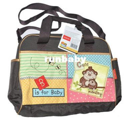 Retain1pcs Lovely Bear Mama Mummy Bag Nappy Diaper Changing Bag Baby Item  Bag Multifunctional Infanticipate Mother Baby Bag