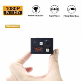 Nova X1 Mini Câmera HD 1080 P Night Vision Camcorder DVR Carro Gravador de Vídeo Infravermelho Esporte Digital Micro Cam Detecção de Movimento Mini DV em Promoção