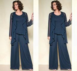Discount Wedding Wear Mother Bride Pants Suits   2017 Wedding Wear ...