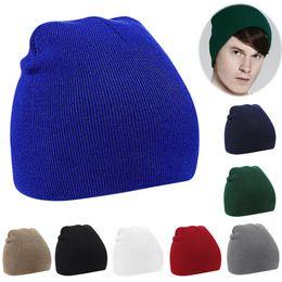 Fine men online shopping - Four Angle Hedging Caps Multi Colors Fine Stripes Short Beanie For Men And Women Peas Hats Universal lz B
