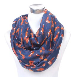 Kancoold Socks Womens Fashionlady Casualwomens Long Cute Fox Print Scarf Wraps Shawl Soft Scarves Gloves Feb13 To Rank First Among Similar Products Apparel Accessories