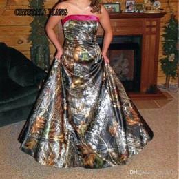 Discount Camo Formal Dresses