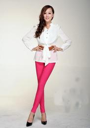 $enCountryForm.capitalKeyWord Canada - New Candy colors High waist pants & capris women stretchy pencil pants leggings