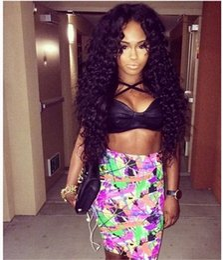 Half Lace Wig Brazilian Hair Canada - 7A Virgin Kinky Curly Human Hair Wigs For Black Women Brazilian Virgin Hair Lace Front Wig Gleuless Full Lace Wig