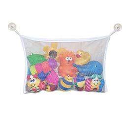 Suction Bags Canada - Wholesale- Hot Baby Toy Mesh Storage Bag Bath Bathtub Doll Organizer Suction Bathroom Stuff Net 11742 6QAA