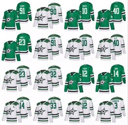 Patrick sharP jersey online shopping - 2019 Men Dallas Stars Hockey Mats Zuccarello Jamie Benn Tyler Seguin Jason Spezza Patrick Sharp Lindell Faksa Ritchie Jersey