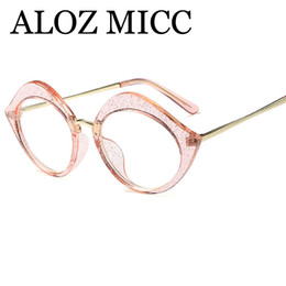 clear plastic frames UK - ALOZ MICC New Sexy Lips Clear Women Glasses Frame Designer 2018 Female Clear Optical Glasses Frame Ladies A418