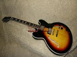 $enCountryForm.capitalKeyWord NZ - Wholesale Newest Vintage Sunburst Jazz Guitar ONE Piece Neck Free Shipping