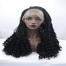 Box braid hair weave online box braid hair weave for sale lace front wigs braid black chemical fiber hair wigs hair a 28 inch bob afro box woven with a long black wig and a black synthetic wig pmusecretfo Image collections