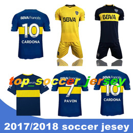 5d2dd29e0 BOCA JUNIORS CARLITOS TEVEZ GAGO PAVIN OSVALDO CAMISA FUTEBOL thai quality  soccer jersey football jerseys soccer jerseys kit shorts uniforms cheap boca  ...