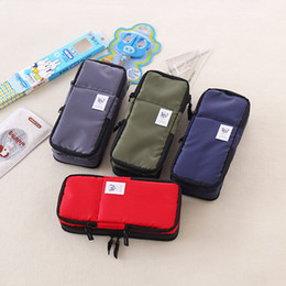 $enCountryForm.capitalKeyWord Australia - Korea Multifunction School Pencil Case & Bags for Boys and Girls Large Capacity Pen Curtain Box Kids Gift Stationery Supplies