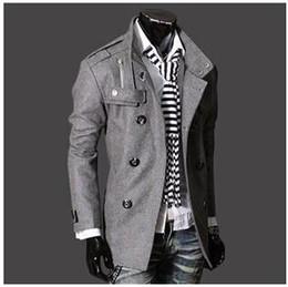Denim Trench Coat Men Online | Denim Trench Coat Men for Sale