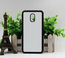 2d Sublimation Cases NZ - For Samsung Galaxy J7 plus 2D DIY tpu +pc sublimation blank case with insert and glue free shiping 10pcs