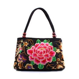 2018 Wholesale- Top-quality Vintage Hmong Tribal Ethnic Boho Hot Lady  shoulder Handbag Women s bag linen embroidery Handbags Tapestry 240e3d4cad