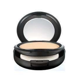 $enCountryForm.capitalKeyWord UK - Hot sale New Foundation Brand Make-up Studio Fix Powder Cake Easy to Wear Face Powder Blot Pressed Powder Sun Block Foundation 15g NC & NW