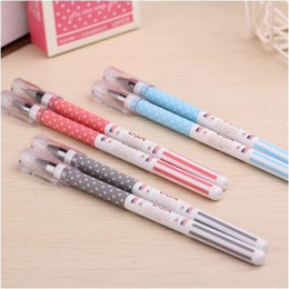 New Styles Pens NZ - new creative usa flag style gel-ink pen for students   high quality office stationery gel pen as promotion gifts12pcs lot ARC801