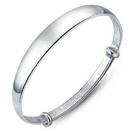 $enCountryForm.capitalKeyWord UK - Smooth sliding export Korean fashion bracelet bracelet S999 Sterling Silver Bracelet Valentine's Day gift to send his girlfriend a gift
