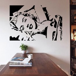 bed0b9e32e Marilyn Monroe Quote Vinyl Wall Stickers Art Mural Home Decor Decal Adesivo  De Parede Wallpaper Home Decoration