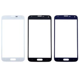 Touch Screen Replacement For S5 NZ - Front Outer LCD Touch Screen Lens Glass For Samsung Galaxy S5 G900f i9600 Parts Replacement