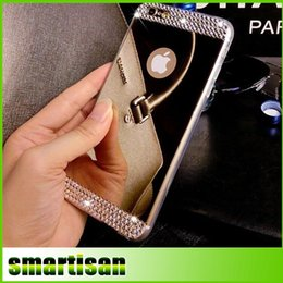 "$enCountryForm.capitalKeyWord Canada - NEW case for iphone6 Luxury Bling Mirror Cases TPU Soft Gel Cell Phone Case Glitter Rhinestone Skin Cover for iPhone 5 5S 6 6Plus 4.7"" 5.5"""
