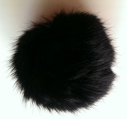 Female Accessories China NZ - 7CM natural brown colour rabbit fur pom poms garments accessories shoes & accessories hat accessory, 50pcs set, free shipping