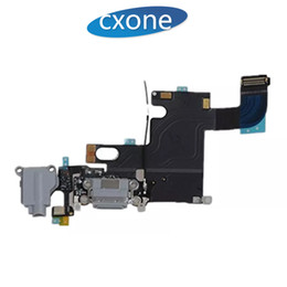 Iphone replacement charge online shopping - For iPhone S S plus Original Replacement USB Charging Port Dock Connector and Headphone Jack Flex Cable Ribbon