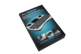 rii mini i8 2.4ghz wireless keyboard UK - Fly Air Mouse Rii Mini i8 2.4G Wireless Keyboard with Multi-Media Remote Control Touchpad Handheld for Google Android Smart TV Box keyboards