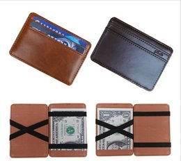 $enCountryForm.capitalKeyWord Canada - New Wallet Men Synthetic Leather Funny Magic Wallet Credit Card Clutch Holder Wallet Purse Casual Wallets